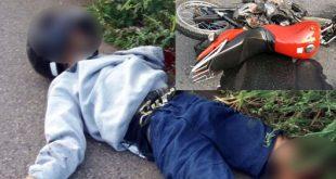 Motoqueiro morre após colidir com carreta na BA-262, entre Conquista e Anagé