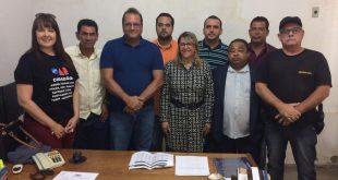 Autoridades de Itambé discutem com a corregedora das Comarcas do Interior, a situação no município