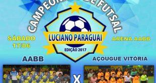 AABB e Açougue Vitória farão a grande final do Campeonato de Futsal neste sábado