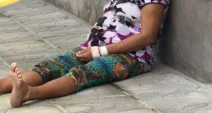 Drama: Mulher foge da UTI e morre na calçada do hospital