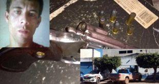 Em troca de tiros com a Caesg, bandido é morto em Barra da Estiva