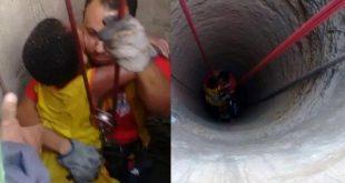 Bahia: Outra criança cai em cisterna e sobrevive a queda de 25m de profundidade