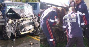 Grave acidente na BR-415, entre Itabuna e Ilhéus deixa vítima fatal