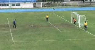 Futebol tailandês tem cobrança de penalty e gol nunca visto