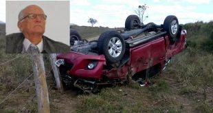 Ex-prefeito de Itarantim sofre grave acidente em Itambé