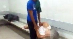 Vídeo: Idosa com crise cardíaca agoniza, enquanto atendente olha celular no Hospital de Base em Itabuna