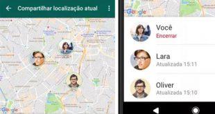 Whatsapp libera compartilhamento de localização em tempo real. Saiba como funciona