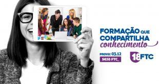 FTC Conquista – realiza vestibular no próximo domingo dia 3 de Dezembro
