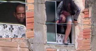 Conquista: Mulher pula de janela para escapar do ex-marido com faca