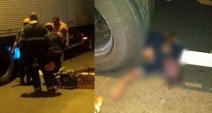 Tragédia em Conquista: Idoso que morre atropelado por carreta na Av. Integração