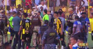 Jogo do Intermunicipal termina em confusão em Santo Amaro