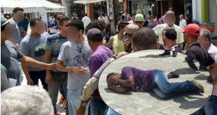 Conquista: Homem é espancado após ser flagrado filmando partes íntimas de menor