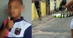 Tio e sobrinho de 11 anos são assassinados a tiros em salão de beleza na Bahia