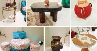 Artista itambeense Zizi Ferreira realiza exposição de peças para decoração de ambientes