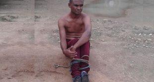 Ladrão é amarrado após ser flagrado tentando furtar carro em Conquista