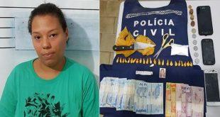Ipiaú: Ao ser presa com cocaína, mulher tenta se livrar do flagrante acusando a mãe
