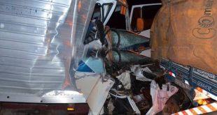 Dois acidentes com vítimas na BR-116, em Cândido Sales