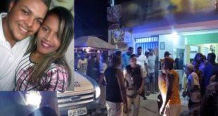 Casal é morto a tiros dentro de pizzaria naBahia;filha pequena presenciou o crime