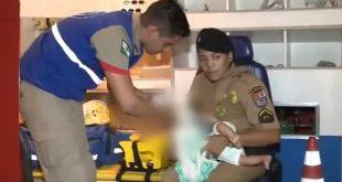 Vídeo: Pai bêbado joga bebê de nove meses no chão e agride enteada de 8 anos e esposa