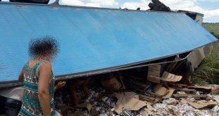 Sudoeste: Ataque de abelha a motorista provoca tombamento de carreta que saiu de Conquista
