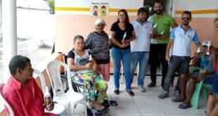 Equipe de Endemias realiza palestra e distribuição de repelentes no Abrigo Josefina Ferraz