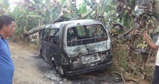 Briga entre irmãos termina com van incendiada na zona rural de Valença