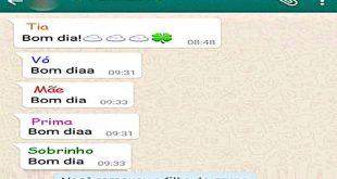 Filha denuncia mãe à polícia por tirá-la do grupo da família do Whatsapp