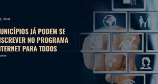 Catolezinho e povoados de Itambé podem ser beneficiados com o Programa Internet para Todos. Município ainda não aderiu