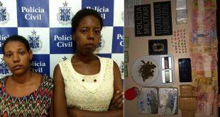 Itambé: PC e GCM interceptam dupla e apreende grande quantidade de drogas na BA-263