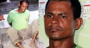 """Vídeo: """"Não me lembro de nada"""" diz maníaco preso após estuprar bebê de 4 meses"""