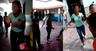 """Com gritos de """"estou com fome"""" alunos protestam contra a falta de merenda em escola itambeense; Veja vídeo"""