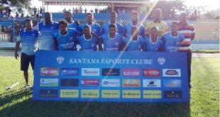 Grande goleada do Santana marca o início do Campeonato Municipal 2018