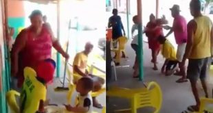 Vídeo de briga de casal de Itororó viraliza na internet, com mais de meio milhão de visualizações
