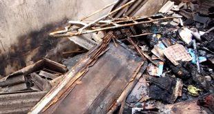 Itapetinga: Pássaros morrem carbonizados após homem brigar com esposa e atear fogo na casa