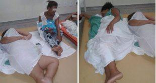 Saúde em caos: Mães e gestantes esperam atendimento no chão em Ilhéus