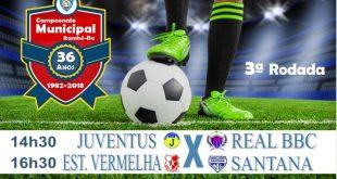3ª Rodada do Municipal terá Juventus X Real BBC e Estrela Vermelha X Santana
