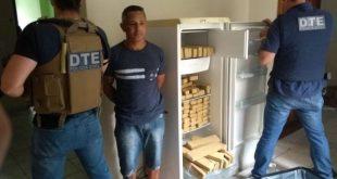 Polícia Civil prende traficante e apreende 100 quilos de maconha e cocaína em Conquista