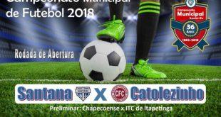 Itambé: Começam neste domingo as emoções do Campeonato Municipal 2018