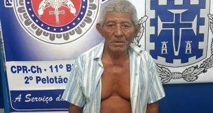 Idoso de 89 anos é preso acusado de estuprar bisneto de oito anos na Bahia