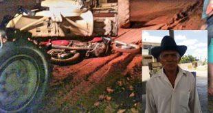Idoso é atropelado e morto por patrol na zona rural de Tanhaçu