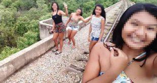 Três jovens caem de ponte de dez metros ao tirar selfie no Piauí