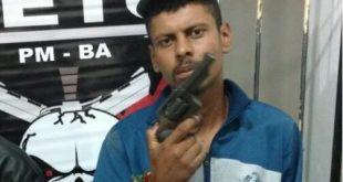 Bandido de alta periculosidade morre em confronto com a PM em Conquista