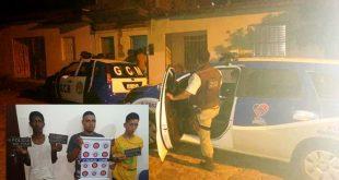 Itambé: Policia Militar e GCM prendem três indivíduos e apreendem drogas no Felipe Achy