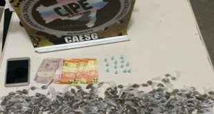 Itambé: PM e GCM realizam mais uma prisão e apreensão de drogas no Bairro Felipe Achy