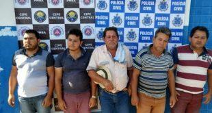 Ciganos são presos com mais de R$ 18 mil e armas no sudoeste da Bahia