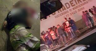 Homem é assassinado a tiros no Bairro Patagônia em Conquista