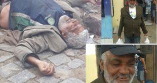 Maiquinique: Ação da PM acaba com doente mental morto e população se revolta