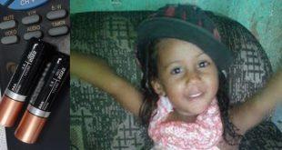 Tragédia: Criança morre após ingerir pó tóxico de pilha de controle remoto na Bahia