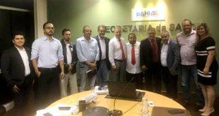Secretário de Saúde do Estado recebe autoridades de Itambé para discutir apoio à Santa Casa