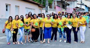 Itambé realiza grande caminhada no Dia Nacional do Combate a Exploração Sexual
